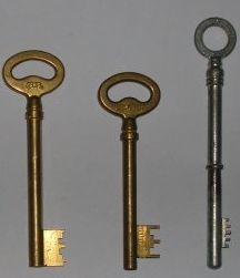 clefs à gorges