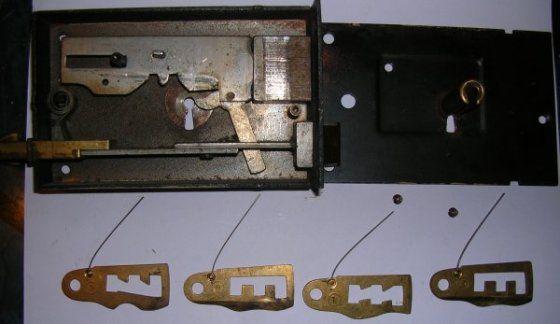 Fonctionnement et crochetage d 39 une serrure gorges - Comment fermer une porte sans serrure ...